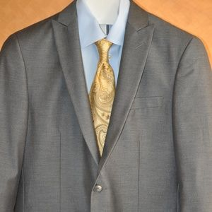John Varvatos Gray Peak Lapel Sport Coat MINT 40 R